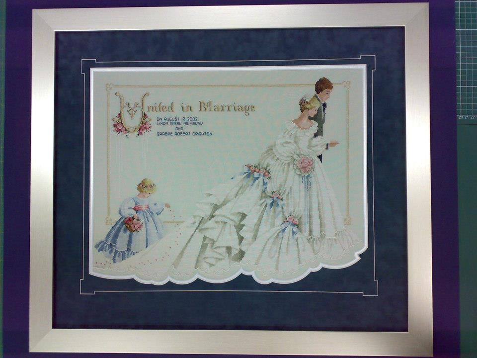 wedding dress matboard